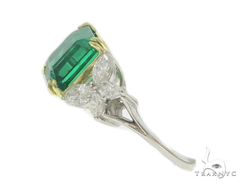 Butterfly Emerald Gemstone Diamond Ring 49351 Anniversary/Fashion