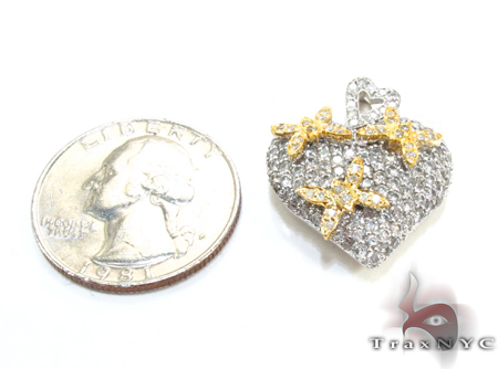 Butterfly Heart Charm 3 Style