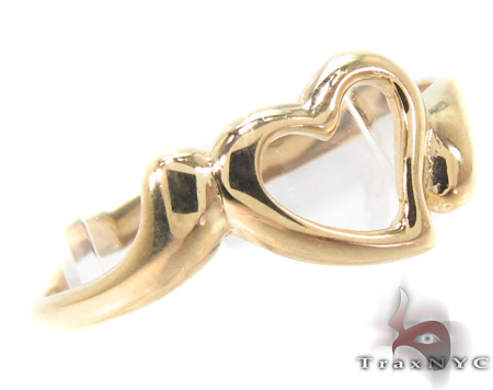 CZ 10K Gold Heart Ring 33585 Anniversary/Fashion