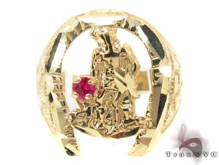 CZ 10K Gold Ring 33276 Metal