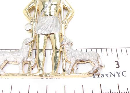 CZ 10K Gold Pendant 33649 Metal