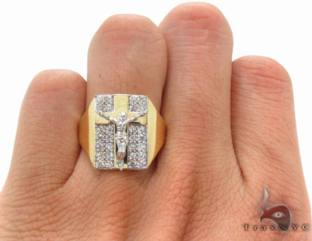 CZ 10K Gold Ring 33217 Metal