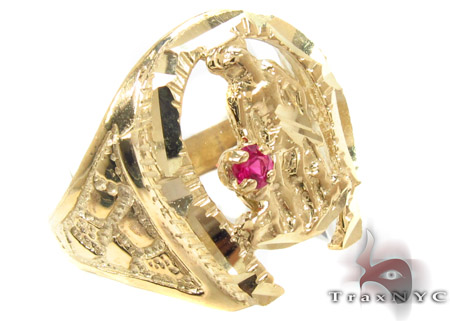 CZ 10K Gold Ring 33261 Metal