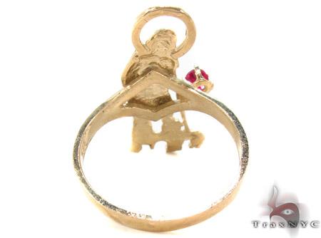 CZ 10K Gold Ring 33264 Metal