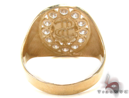 CZ 10K Gold Ring 33267 Metal