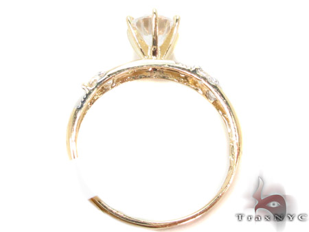 CZ 10K Gold Ring 33595 Anniversary/Fashion