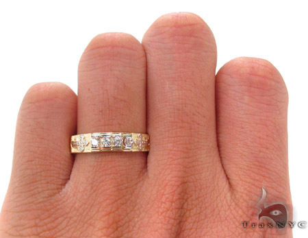 CZ 10K Gold Ring 33596 Anniversary/Fashion