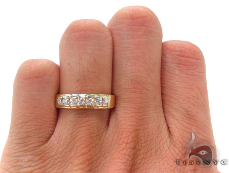 CZ 10K Gold Ring 33617 Anniversary/Fashion