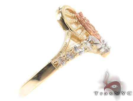 CZ 10K Gold Ring 33628 Anniversary/Fashion
