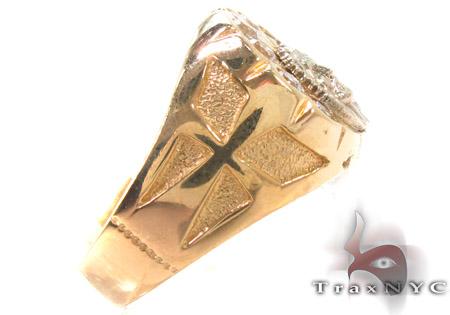CZ 10K Yellow Gold Ring 33291 Metal