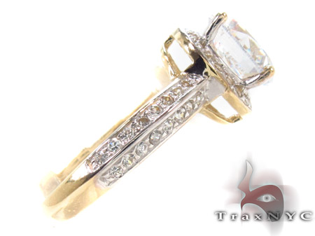 CZ 10k Gold Ring 33361 Anniversary/Fashion