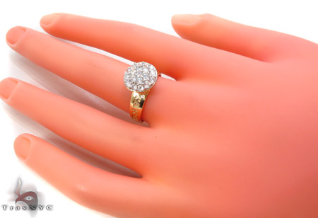 CZ 10k Gold Ring 33341 Anniversary/Fashion