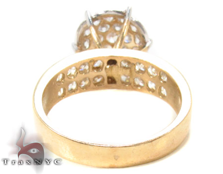 CZ 10k Gold Ring 33345 Anniversary/Fashion