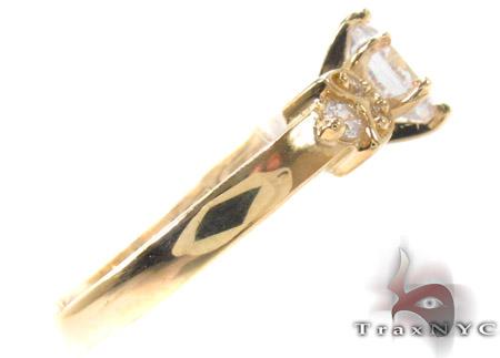CZ 10k Gold Ring 33364 Anniversary/Fashion
