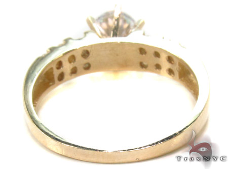 CZ 10k Gold Ring 33369 Anniversary/Fashion