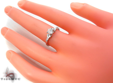 CZ 10k Gold Ring 33466 Anniversary/Fashion