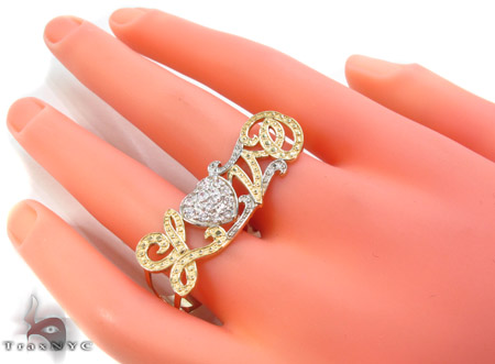 CZ 10k Gold Ring 33490 Anniversary/Fashion