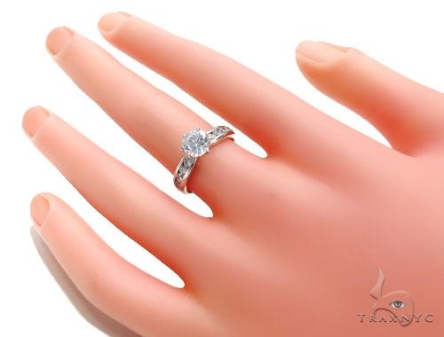 CZ Engagement Ring 40963 Engagement