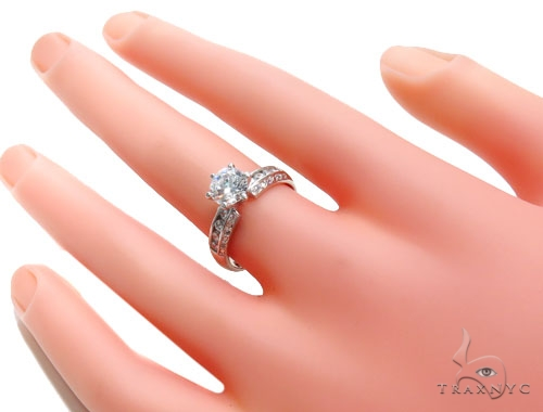CZ Engagement Ring 40964 Engagement