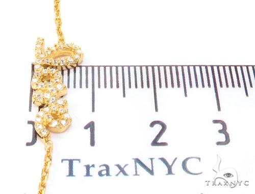 CZ Silver Love Bracelet 35989 Silver & Stainless Steel