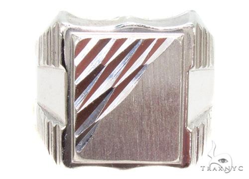 Silver Ring 36813 Metal