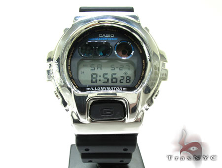 Casio G-Shock Black Silver Case G-Shock