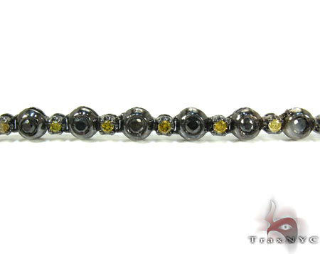 Canary and Black Diamond Rosary 36 Inches 5mm 54 Grams Rosary