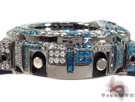 Casio G-Shock Blue & White CZ Watch G-Shock