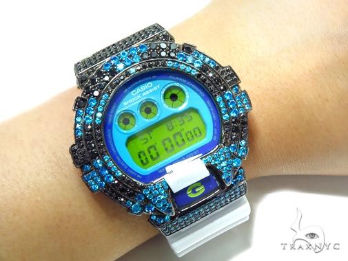 Silver Case Casio G-Shock Watch DW6900CS-7 43178 G-Shock
