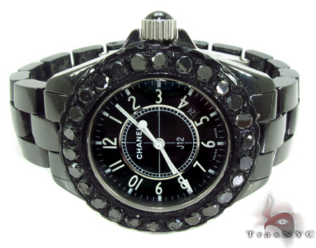 Chanel Black Diamond J12 Watch Special Watches