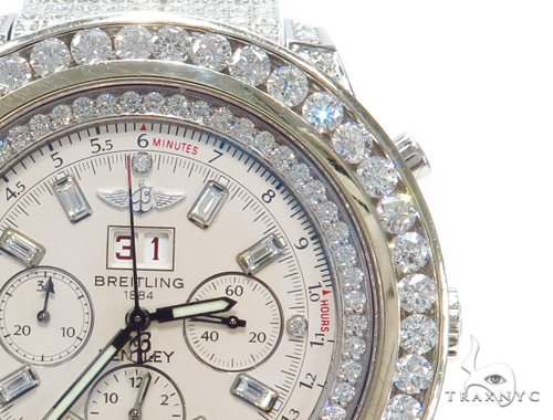 Breitling Bently Fully Diamond Watch 42803 Breitling