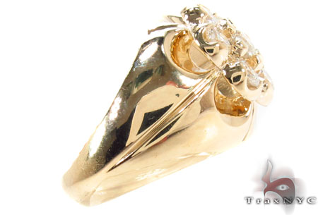 Channel Crown Ring Stone