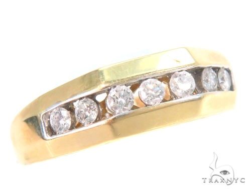 Channel Diamond Band 45202 Style