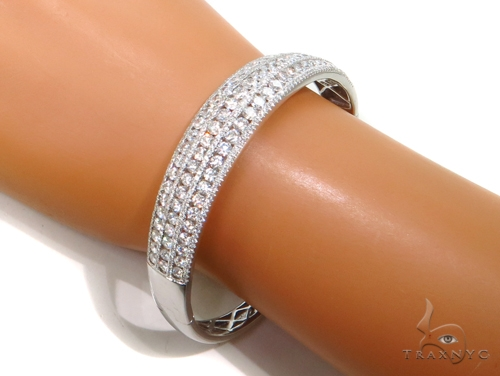 Channel Diamond Bangle Bracelet 37999 Bangle
