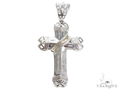 Channel Diamond Cross Crucifix 42044 Diamond