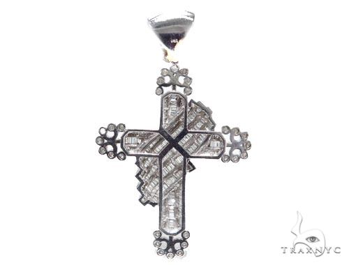 Channel Diamond Cross Crucifix 42126 Diamond
