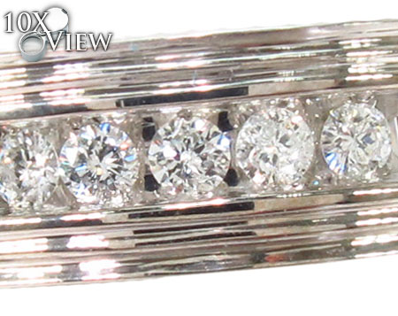 Channel Diamond Ring 29144 Style