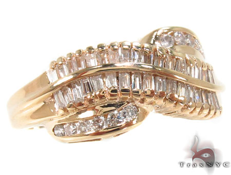 Channel Diamond Ring 32909 Anniversary/Fashion