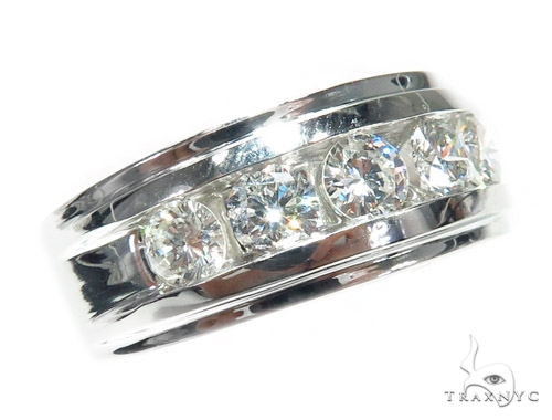 Channel Diamond Wedding Ring 41766 Wedding