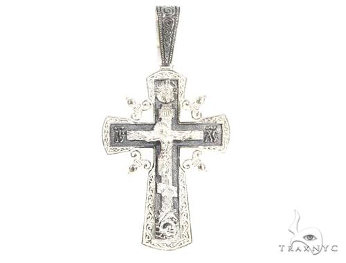 Classic Silver Cross Crucifix 45259 Silver