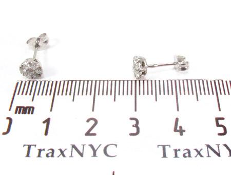 Cluster Diamond Stud Earrings Style