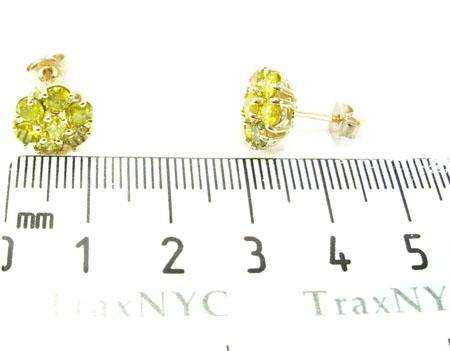 Cluster Earrings Stone