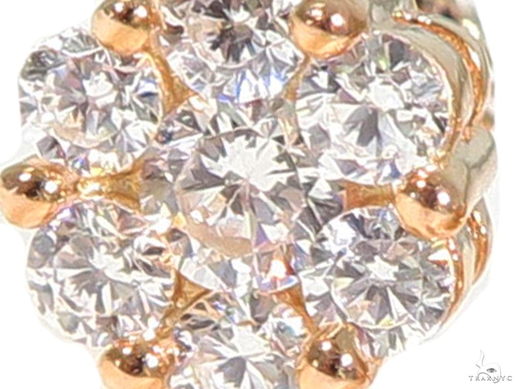 Cluster Silver Earrings 49875 Metal