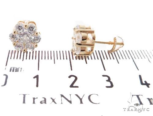Cluster Silver Earrings 49892 Metal