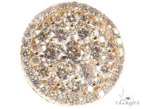 Diamond Stud Earrings 64158 Stone