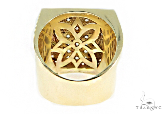 Clymene Gold Ring 49419 Metal