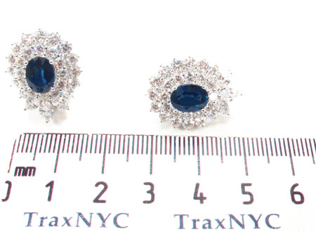 Cornflower Blue Sapphire Set Anniversary/Fashion