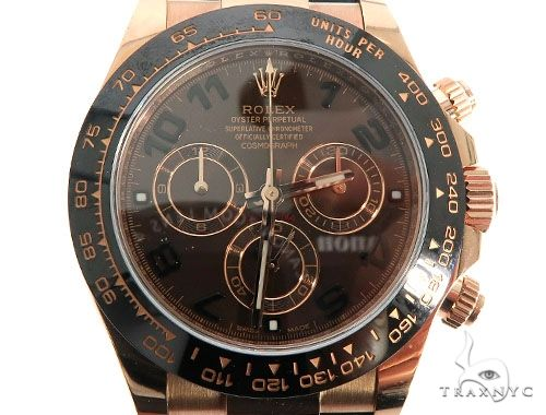 Cosmograph Daytona Chocolate Dial Rolex Watch Diamond Rolex Watch Collection