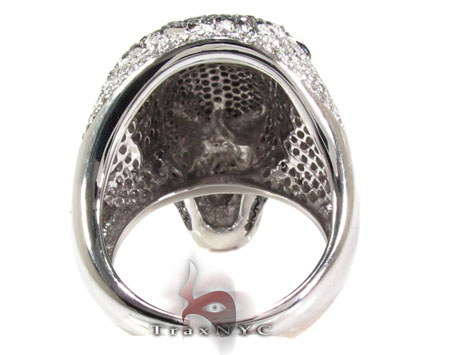 Cougar Black and White Diamond Ring Stone