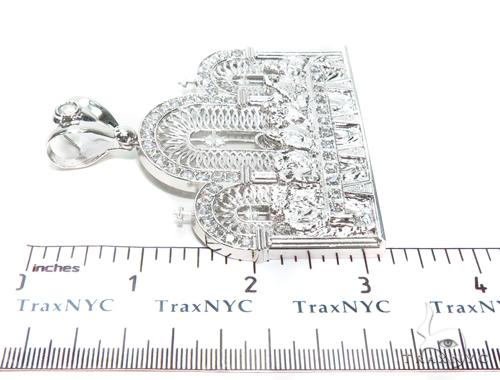 Cross Sterling Silver Pendant 40878 Metal